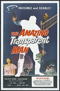 The Amazing Transparent Man (1959)