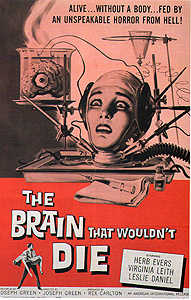 The Brain Wouldn't Die (1959)
