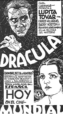 Dracula (1931-- Spanish-language version)