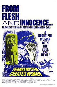 Frankenstein Created Woman (1966)