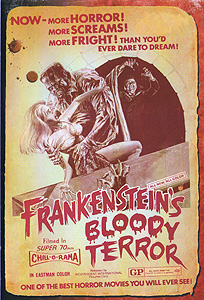 Frankenstein's Bloody Terror Frankensteins Bloody Terror 204x300 Movie-index.com