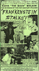 Frankenstein Stalks (2000)