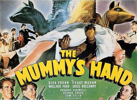 The mummys hand star dick