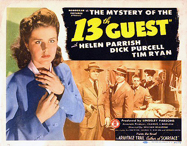 The Mystery of the 13th Guest (1943)