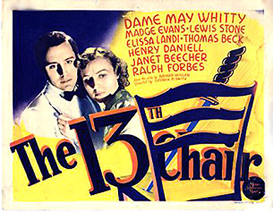 The Thirteenth Chair (1937)