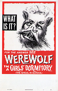 Werewolf in a Girls' Dormitory (1961)